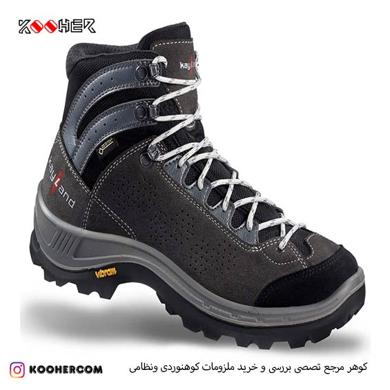 کفش کوهنوردی kayland impact anthracite gray