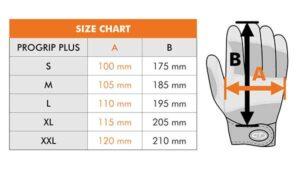 دستکش چرمی CT مدل progrip plus