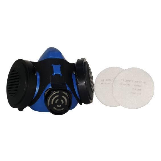 ماسک شیمیایی دو فیلتر