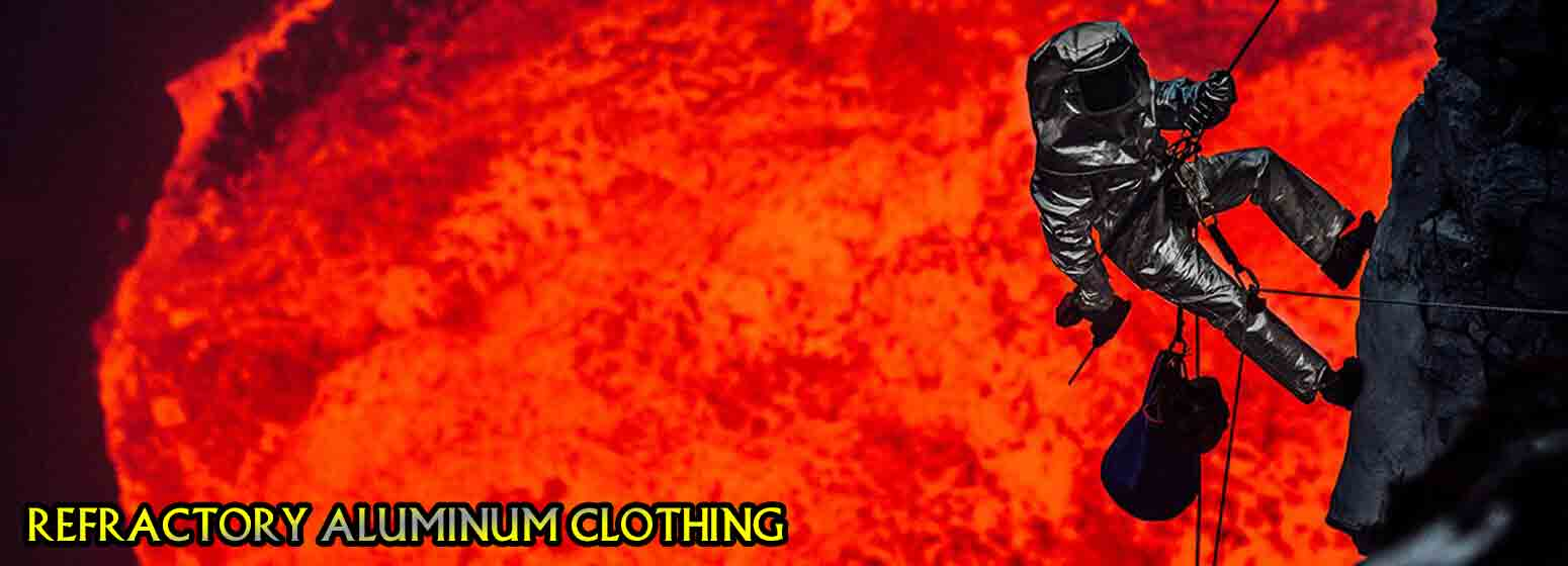 لباس آلومنیومی نسوز