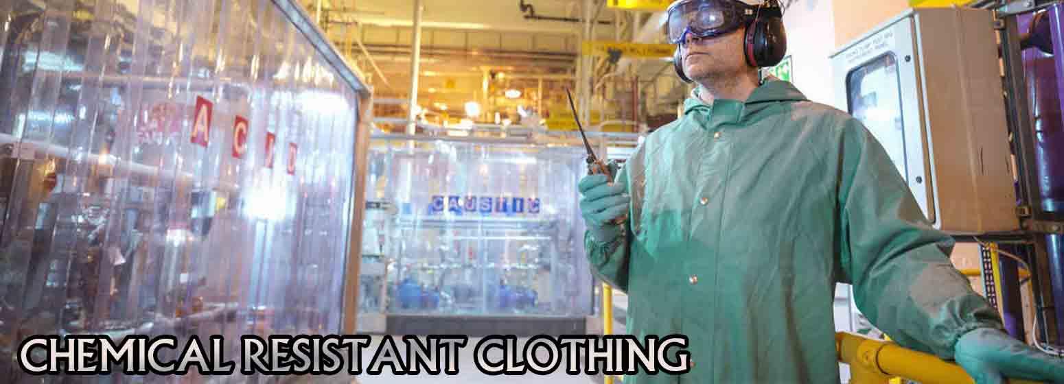 لباس مقاوم شیمیایی