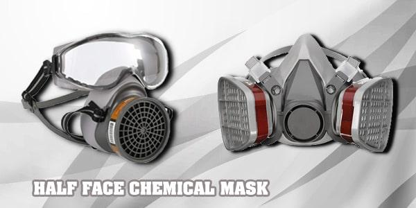 ماسک شیمیایی نیم صورت