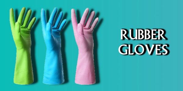 دستکش لاستیکی